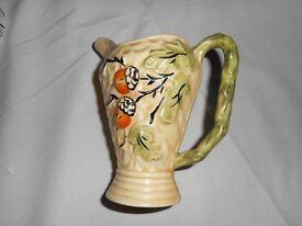 Wade Pottery Art Deco Jug with Acorn Design