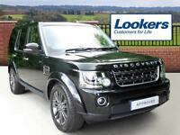 Land Rover Discovery SDV6 GRAPHITE (black) 2016-05-24