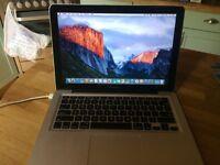 MacBook Pro 2009 13.3in display, 2.53 GHz Intel Core 2 Duo, 4GB memory, 500GB storage