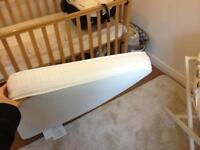 *Brand new Mothercare Airflow Spring Cot Mattress (Never used, opened by mistake). 120 L cmx60 W cm*