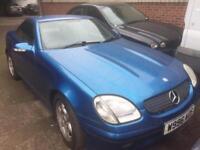 Mercedes slk 200 6 speed manual facelift