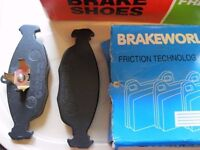 Early Vauxhall Astra brake shoes/pads