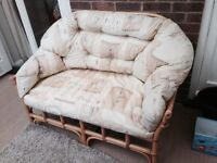 Conservatory 2 seater sofa