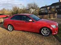 2008 MERCEDES C200 AMG SPORT CDI 48,000 MILES FSH IMMACULATE CONDITION