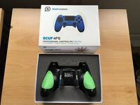 SCUF 4PS Gaming PS4 Controller & Case (Customised) FREE KontrolFreeks
