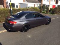 BMW 325i 2007 COUPE FULL 335i Rep Engine conversion Damaged Repaired