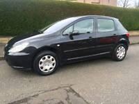 Peugeot 307 2005. 1 years mot low mileage