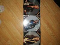 Def leopard , vinyl record picture lps.