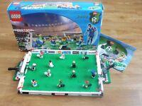 Football Lego sets 3409, 3402, 3403 & 3408