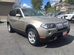 2007 BMW X3 3.0si Coquitlam Location - 604-298-6161