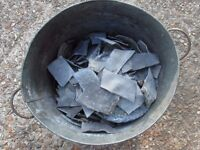9 KG of Cut Lead , Ready to melt down to make fishing weights