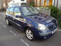 RENAULT CLIO 1.4 PRIVILEGE, 2002, 87000 MILES