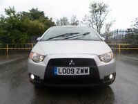2009 MITSUBISHI COLT CZ2 5 DOOR LOW MILEAGE ONE YEAR MOT CHEAP TO RUN GREAT CONDITION