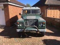land rover 1962 series 2