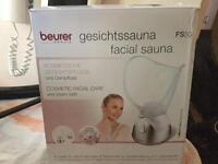 Facial sauna nose and face steamer