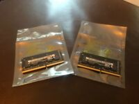 8GB Memory - DDR4 PC4-19200 2400MHz 260-pin SODIMM - 2 X 4GB cards