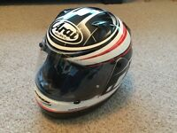 ARAI Quantum Motorcycle Helmet £480 new. Great condition, never dropped etc. Baby forces sale!