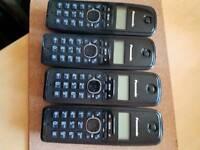 Quad house phone system