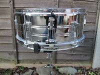 "Drums - Snare Drum 14"" x 5.5"" Plus Sticks"