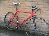HINDE Alu/Carbon Flat bar road bike | Serviced | Central Oxford | Warranty