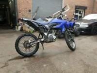 Yamaha wr125r px swap for car can add extra cash