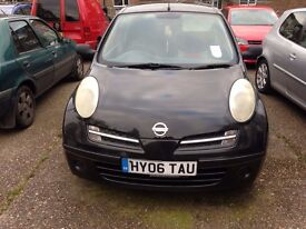 Nissan Micra S Manual 2006 1.2 3 Door Petrol