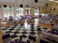 Dance floor hire and disco lighting packages