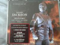 Micheal Jackson History 2 CD album