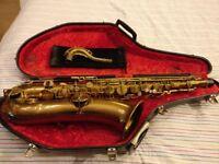 Buescher True Tone Tenor Saxophone