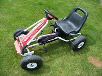 Kiddie's Pedal Go-Kart - as new