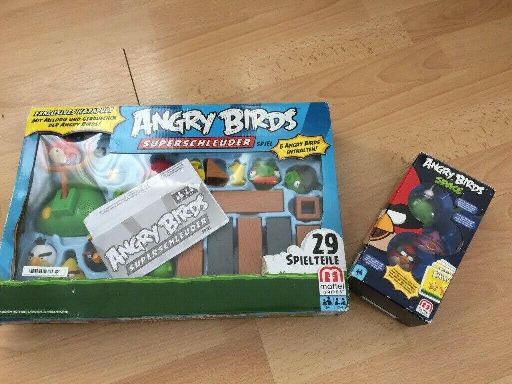 Angry Birds Figuren (großes Set) Superschleuder 2x Spiel Set