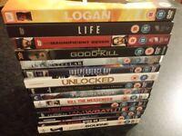 15 DVDs - ONLY £25! Includes Logan, Interstellar, Star Wars