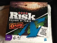 RISK (BALANCE OF POWER) BOARD GAME FOR 2 PLAYERS. LIKE NEW.