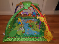 Fisher-Price Rainforest Friends Playmat Gym, boxed, as new, £40 ono