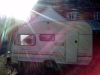 Perle Adonis 3 berth towing caravan