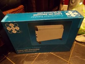 BRAND NEW UNOPENED BOX 2 KW ELECTRIC HEATER