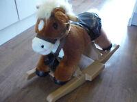 singing rocking horse