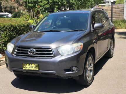 2010 Toyota Kluger Kx-s (fwd) 5 Sp Automatic 4d Wagon Maribyrnong Maribyrnong Area Preview