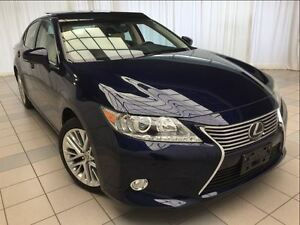 2013 Lexus ES 350 Technology Package: 1 Owner, 11,900 km.