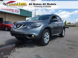 2014 Nissan Murano $132.35 BI WEEKLY! $0 DOWN!  AWD! LEATHER! BA