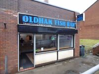 Impressive Fish and Chips Takeaway for Sale