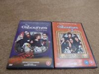 The Osbournes - Series 1 & 2 DVD's Collectors editions - Excellent condition