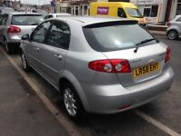 58/CHEVROLET 1.6 LACETTI VICAR OWNER MOT MAY 2019 V/CLEAN £995