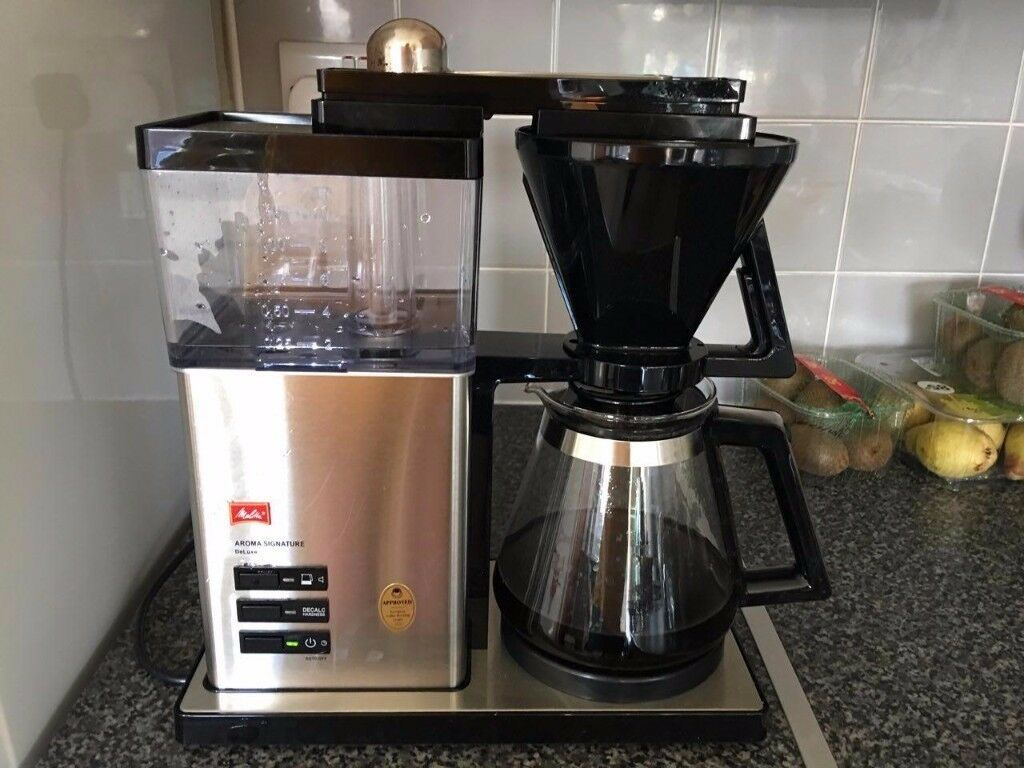 Melitta Aroma Signature Deluxe 1007 02 Filter Coffee Machine Measuring Scoop Filters In Barnsley South Yorkshire Gumtree