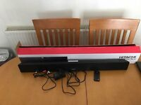 Hitachi Blue Tooth Sound Bar. Only used once.
