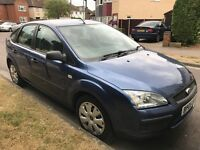 Ford Focus LX 1596cc Petrol 5 speed manual 5 door hatchback 05 Plate 29/07/2005 Blue