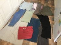 Very large bundle of ladies clothes size 16