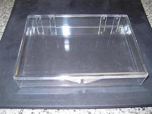 Clear Plastic snap boxes