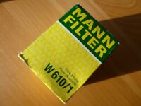 Mann W610/1 Car Engine Oil Filter for Suzuki Swift 1.3 and others. NEW