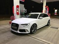 Audi RS6 LOOKS 3.0TDi sline 8 speed tiptronic Avant (estate) Top option spec